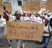 Les Comores ont manifesté ce vendredi contre Charlie Hebdo