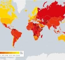 Classement des pays les plus corrompus