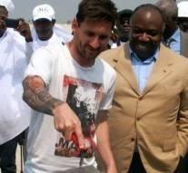 Messi a été payé 3,5 millions d'euros pour se rendre au Gabon
