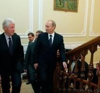 Clinton: Vladimir Poutine possède un potentiel énorme