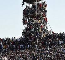 Nigeria –  42.000 spectateurs se sont entassés au stade pour suivre le match Nigeria-Egypte