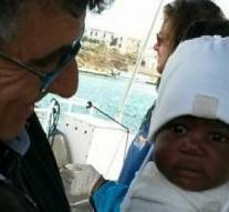 Traversée méditerranée : Une fillette de 9 mois survécue, ses parents sont décédés en mer