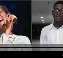 «Ton talent est aussi grand que ta voix», dit Céline Dion au jeune gabonais qui l'imitait