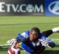 Le gardien de  but  congolais se tue  en faisant un plongeon de 8 mètres