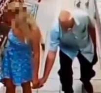 Vidéo: Un vieux pervers surpris en flagrant délit