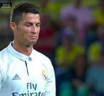 Vidéo : Cristiano Ronaldo n'a pas apprécié son remplacement