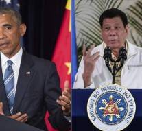 Le président philippin dit à Obama… d'aller «au diable»