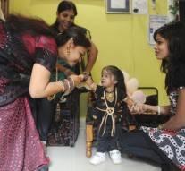 Jyoti Amge, la femme la plus petite du monde