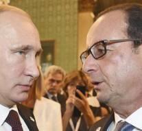 Poutine à Hollande : « Si la France, la Grande Bretagne et les Etats Unis veulent la guerre, ils l'auront »