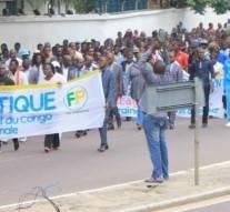 Brazzaville : Les congolais sont descendus dans la rue pour demander le retrait du Congo de la CPI
