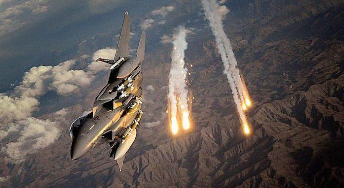 La frontière nord-coréenne sous le feu des bombardiers américains