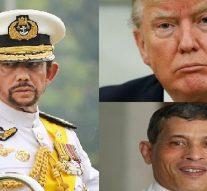 Top 10 des présidents les plus riches du monde