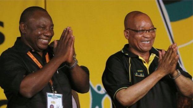 Afrique du Sud : Ramaphosa élu président