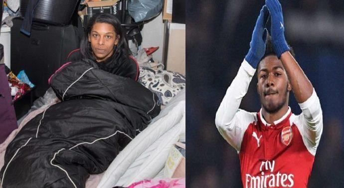 Elle dort dans la rue alors que son fils footballeur gagne 30 000 euros par semaine
