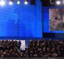 Le président russe Poutine dévoile des armes nucléaires «invincibles»
