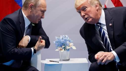 Trump a proposé à Poutine une rencontre à la Maison Blanche