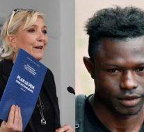 Marine Le Pen se prononce sur  la naturalisation de Mamadou Gassama, le négro qui a sauvé l'enfant blanc à Paris