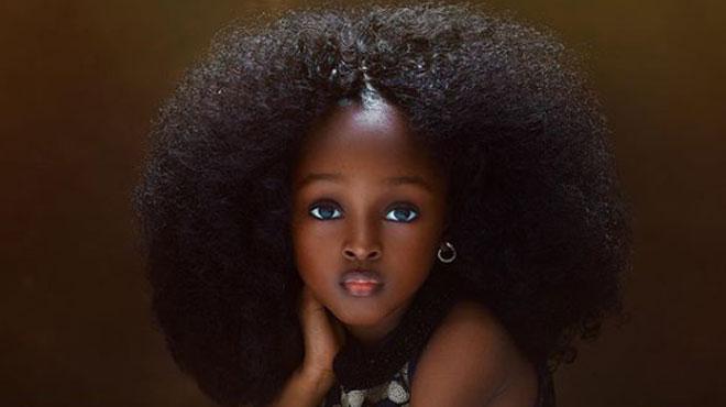 Cette Nigériane de 5 ans vient d'être élue unanimement «La plus belle fille du monde»