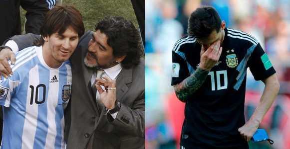 Maradona: «Messi n'est qu'un autre joueur pour l'Argentine. Il ne pourra jamais être un leader»