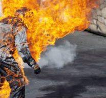 Elle brûle vif son mari pour avoir pris une seconde épouse