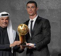 Cristiano Ronaldo nommé joueur de l'année aux Globe Soccer Awards devant Griezmann et Mbappe