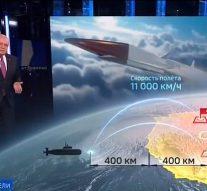 La télévision russe montre des lieux américains que la Russie ciblerait avec des armes nucléaires hypersoniques qui peuvent frapper en seulement cinq minutes