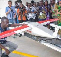 Le Ghana commence à utiliser des drones pour distribuer des produits médicaux