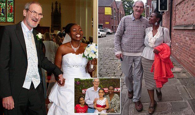 Mère, 33 ans, fiancée à un homme de 65 ans seulement trois semaines après leur rencontre, insiste sur le fait qu'ils sont plus heureux que jamais