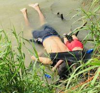Une photo choquante du père et de la fille noyés met en lumière le péril frontalier des migrants