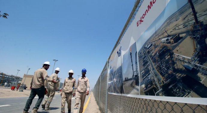 Une entreprise pétrolière américaine bombardée en Irak