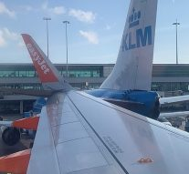 Un Airbus A320 d'EasyJet est entré en collision avec un Boeing à l'aéroport d'Amsterdam