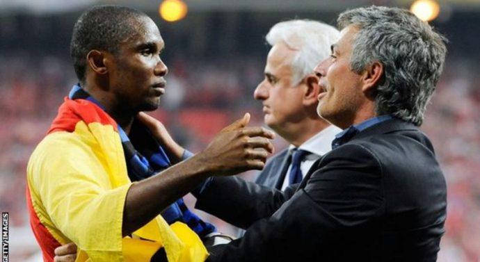 José Mourinho: «Eto'o méritait de gagner un Ballon d'Or»