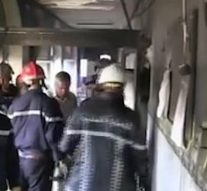 Huit bébés sont tués dans l'incendie d'une maternité en Algérie