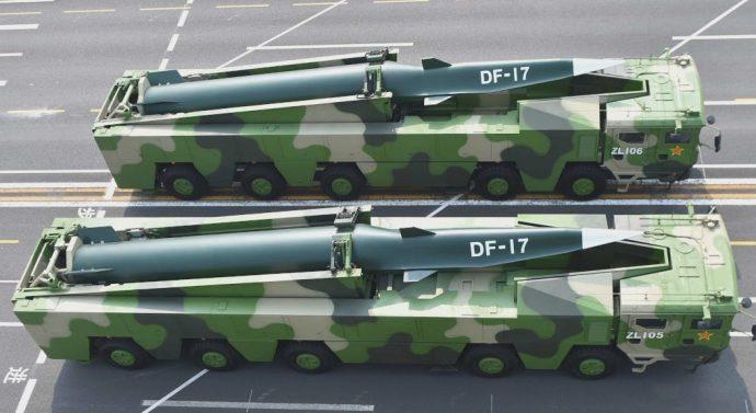 L'armée chinoise présente un nouveau missile nucléaire balistique hypersonique , capable de violer tous les boucliers antimissiles déployés par les Etats-Unis et ses alliés