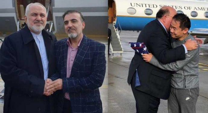 Un universitaire américain et un scientifique iranien libérés lors d'un échange de prisonniers