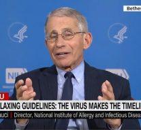 Le Dr Fauci prédit que le nombre de décès par coronavirus aux États-Unis sera de 100 000 à 200 000 personnes et que des millions de personnes seront infectées