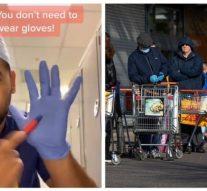 Coronavirus: un médecin utilise TikTok pour montrer pourquoi vous ne devriez pas porter de gants