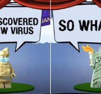 Coronavirus: la chine fait un dessin animé se moquant des États-Unis
